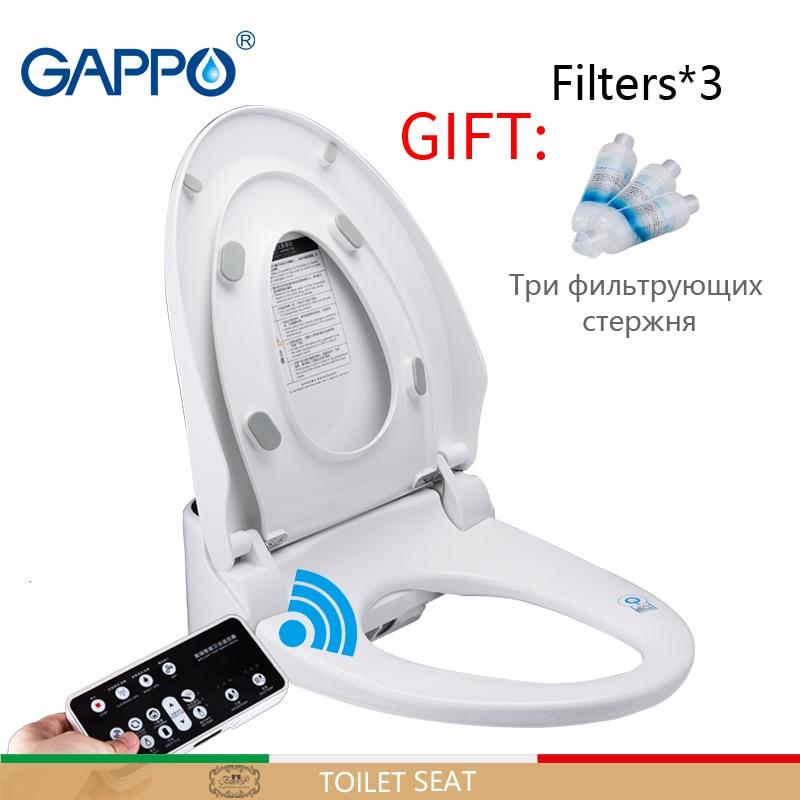 GAPPO toilet smart seat toilet seat bidet Electric toilet seat cover Washlet Electric warm toilet seat cover унитаз электронный smart toilet