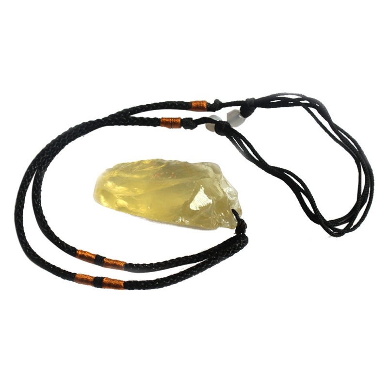Ecological Yellow <font><b>Crystal</b></font> <font><b>Raw</b></font> Natural Citrine Stones Pandent Yellow <font><b>Quartz</b></font> Rough Bulk Gemstone Minerals Energy Necklace image