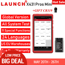 Launch X431 PROS Mini Car Diagnostic Scanner Automotive Scan Diagnostics Tool EC