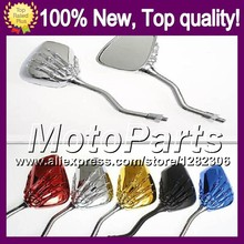 Ghost Hand Skull Mirrors For Aprilia RS4 125 RS125 99-05 RS 125 RS-125 RSV125 99 00 01 02 03 04 05 Skeleton Rearview Mirror