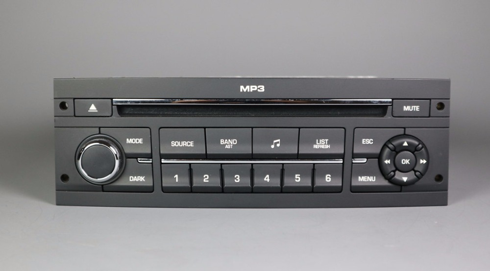 RD43 CD Player With USB AUX Function For Peugeot 206 207 307 508 Citroen C2 C4 C5 C6 Instead Of RD4 Player