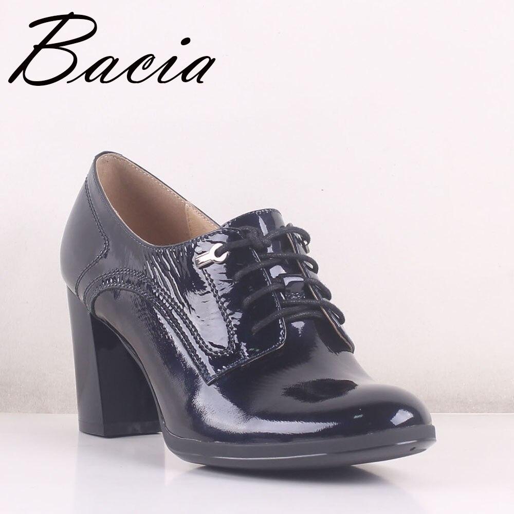 36 Verni Lace 7 Bacia En 5 Talons Nouvelle Footwears Taille Mb018 blue Apricot 40 Cuir Véritable Chaussures Pointes Pompes Hauts Up Cm tzTrwqzA