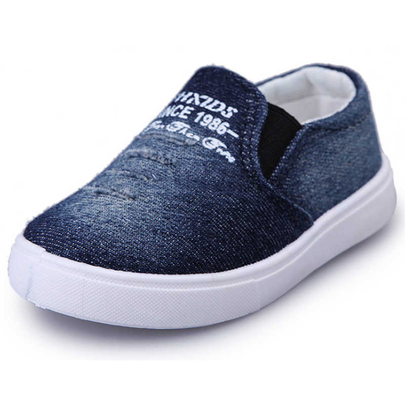 f6520f592 Children Shoes Boys Girls Canvas Casual Shoes Sneakers Fashion Kid Flat  Loafers Kids Breathable School