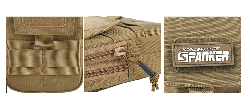 Outdoor Tactical EDC Waist Phone Bag Military Molle Money Waist Tool Bags For Running Pouch