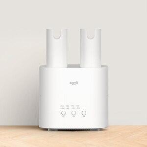 Image 5 - YouPin Deerma HX10 ذكي متعدد الوظائف قابل للسحب مجفف الأحذية متعددة تأثير التعقيم U شكل الهواء خارج