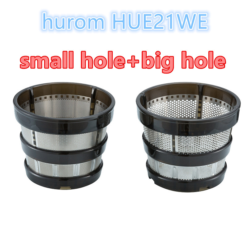 HOLE-FILTER Replacements Juicer Blender Hurom for HUE21WN 2pcs/Lot Small Big-Hole