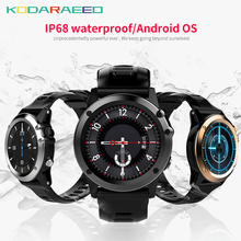 H1 Smart Watch android Watch phone MTK6572 IP68 Waterproof SmartWatch 3G wifi GPS SIM WCDMA GSM Blood Pressure Smart Watches men