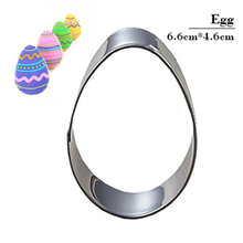 Egg Molding Metal Cake Mold Fruit Vegetable Biscuit Cookie Cutter Tools Kitchenware Stainless Steel New Fondant Baking Supplies