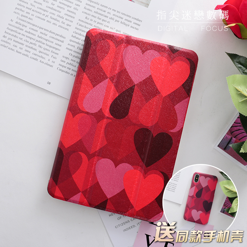 Warm Heart Magnet PU Leather Case Flip Cover For iPad Pro 9.7 10.5 Air Air2 Mini 1 2 3 4 Tablet Case For New ipad 9.7 2017 personal magnet pu leather case flip cover for ipad pro 9 7 10 5 air air2 mini 1 2 3 4 tablet case for new ipad 9 7 2017 a1822