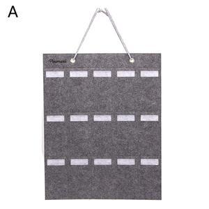 Image 5 - Portable Sunglasses Storage Bag Soft Cloth Hanging Bag Womens Mens Sunglasses Organizer Wall Decoration