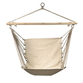 Ordinaire Book Pure White Canvas Casual Outdoor Hammock Hanging Chair Beach Camping