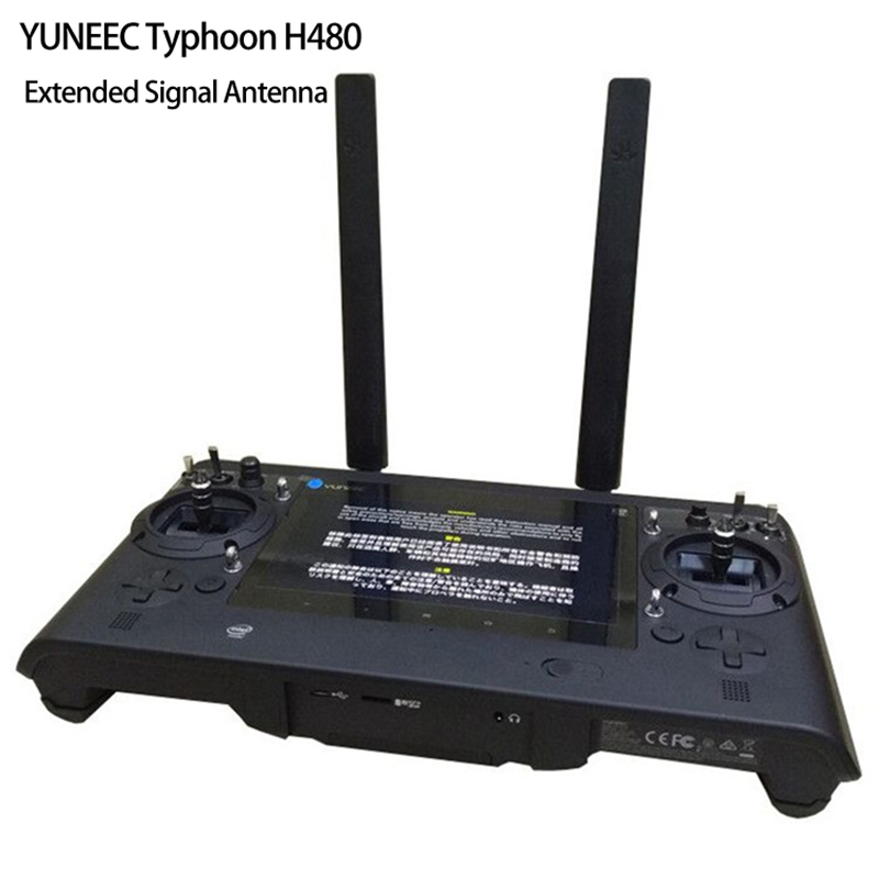 Transmitter Remote Signal Booster Antenna Extended Omni-directional Range 6DBX2 1000m for YUNEEC Typhoon H480 Drone Accessory yuneec typhoon h480 transmitter signal antenna extended omni directional signal range for rc typhoon h480 quadcopter
