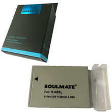 Wholesale SOULMATE NB-5L lithium batteries pack NB 5L Digital Camera Battery NB 5L For Canon For PowerShot S100 S110 SD950 SD970 SD990
