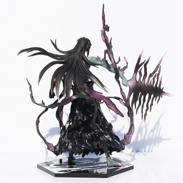Bleach Anime Kurosaki Ichigo Getsuga Tenshou PVC Action Figure Collection Model Toy
