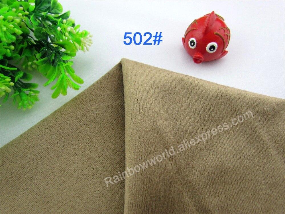 Corail Couleur Bébé//Aiguille Velours Tissu Matériau 148 cm Large