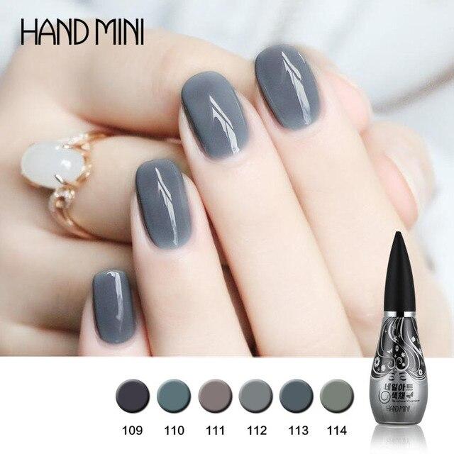 Mano Mini Esmalte de Uñas Uñas De Gel Imprimación Gel de Capa de ...