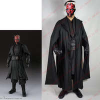 Star Wars Darth Maul Tunic Robe Uniform Cosplay Costume Linen Version Top Pant Coat Gloves