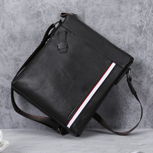 купить BAQI Brand Men Handbags Genuine Leather Cowhide Men Shoulder Bags High Quality Men Messenger Bag 2019 Fashion Business Bag Brown по цене 2507.55 рублей