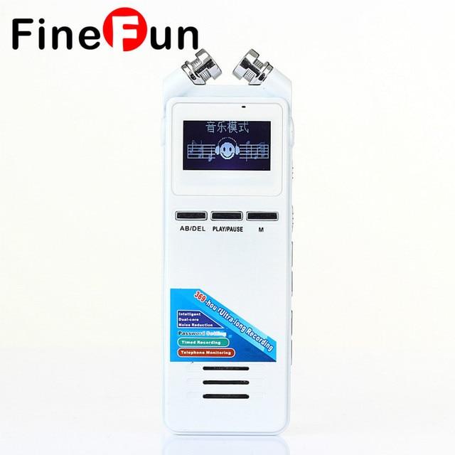 FineFun Professional 8GB Dictaphone High-definition Digital Recorder VOR Phone Recording Recording Pen