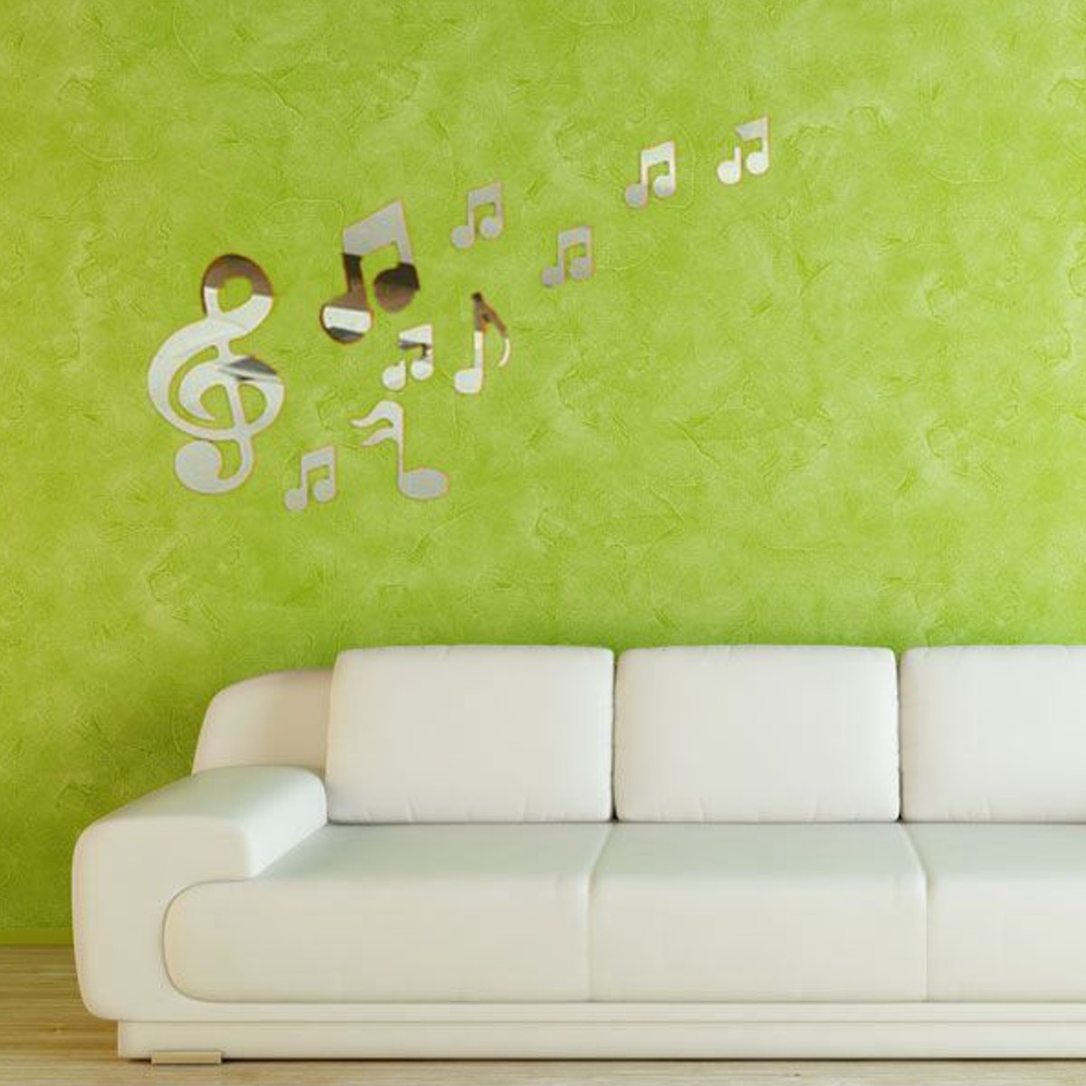 popular musical note wall stickers buy cheap musical note wall removable music note mirror wall sticker vinyl decal mural home decoration china mainland