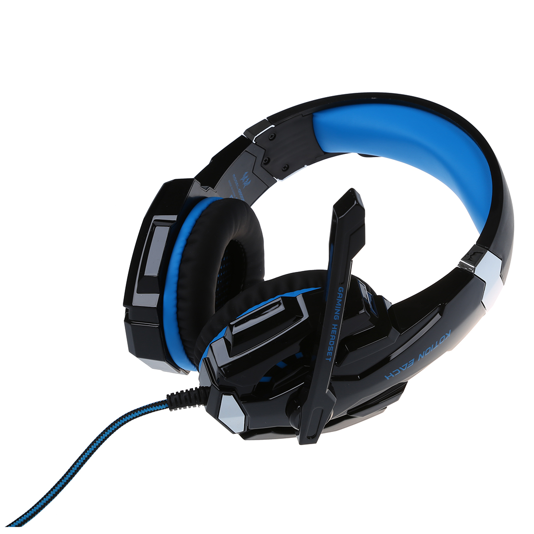 KOTION EACH G9000 Gaming Headset for Play Station 4 Tablet PC iPhone 6 / 6s / 6 Plus / 5s / 5c / 5 Mobilephones, 3.5 mm