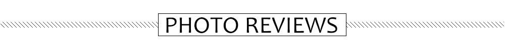 Photo reviews