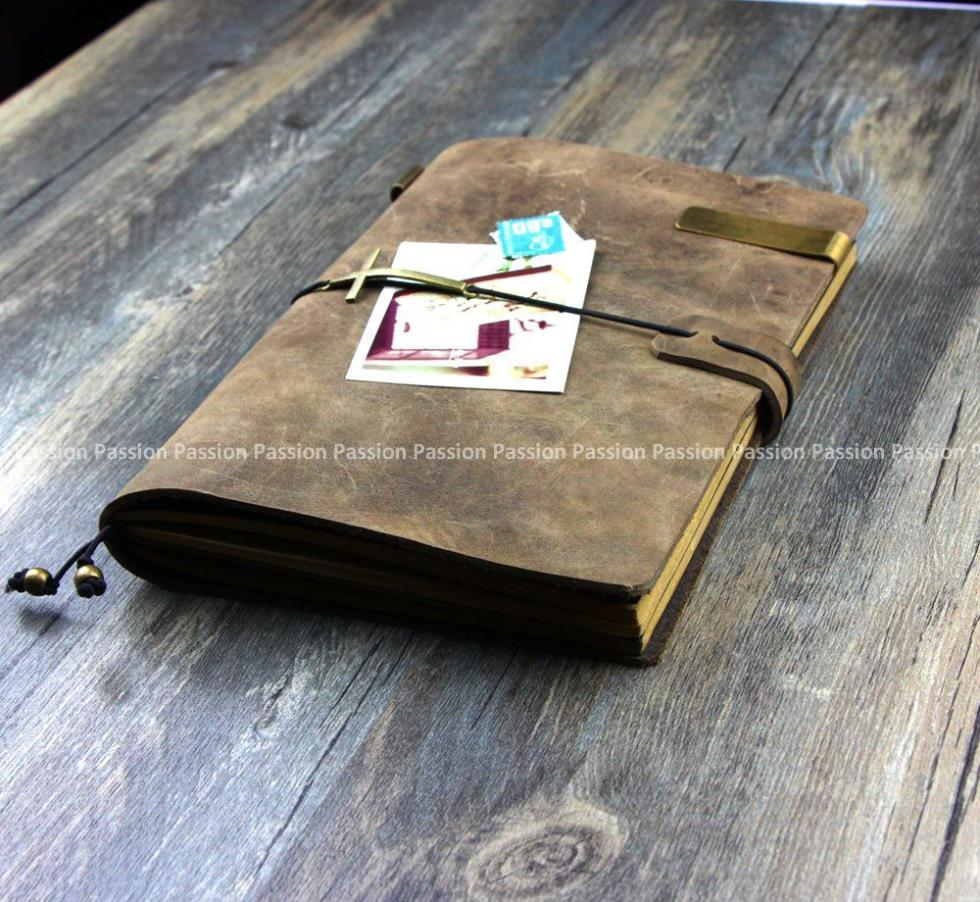 new Diaries Journals notebook note book genuine leather vintage D20141028 blank diaries journals notebook note book genuine leather