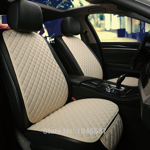 Image 2 - Car Front Seat Back Cushion Car seat cushions Seat Cover Protector Pad Mat for Auto Front Car Styling Car Decorate Protect