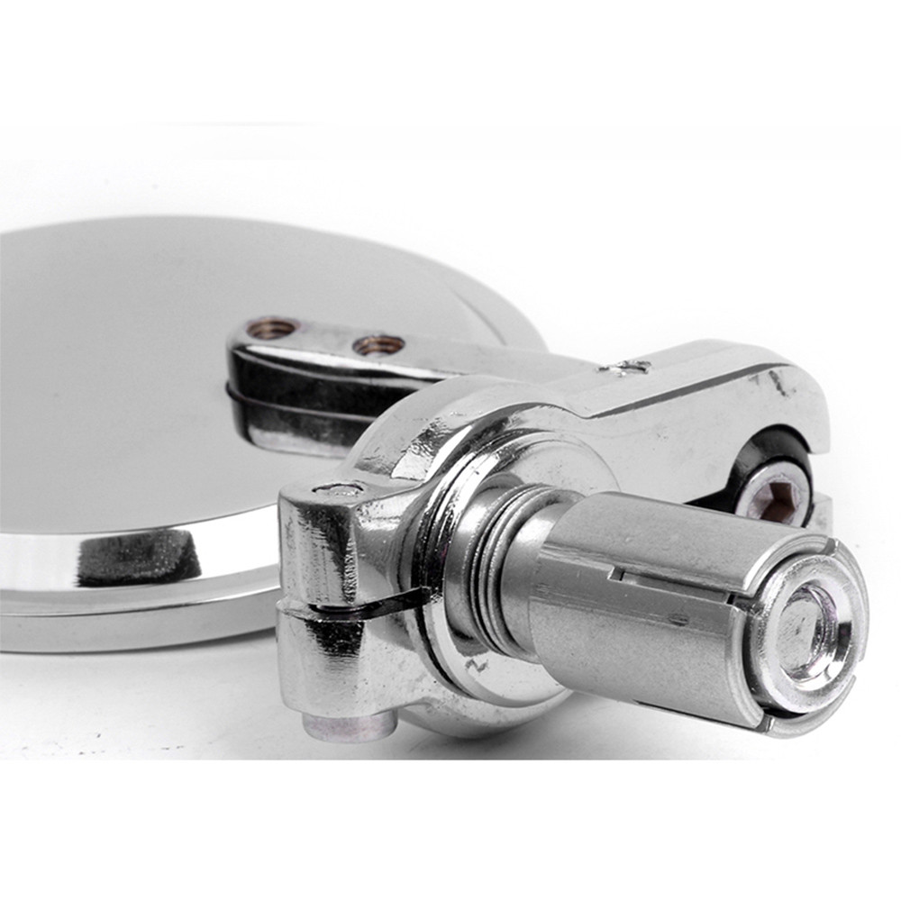 """CNC мотоцикл мото велосипед 7/"""" 22 мм ручка бар торцевые зеркала складной заднего вида боковое зеркало аксессуары для мотоциклов"""