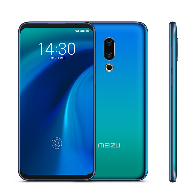 Original Meizu 16th Mobile Phone 6GB 128GB Snapdragon 845 Octa Core Dual Rear 20MP+12MP Front 20MP Camera Smart Phone