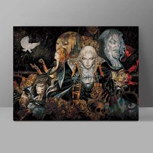 Castlevania Vampire Canvas Painting Video Game Belmont Dracula Wall Pictures Anime Living Room HD Print Hanging Painting delsey belmont 3840820 3840820 12