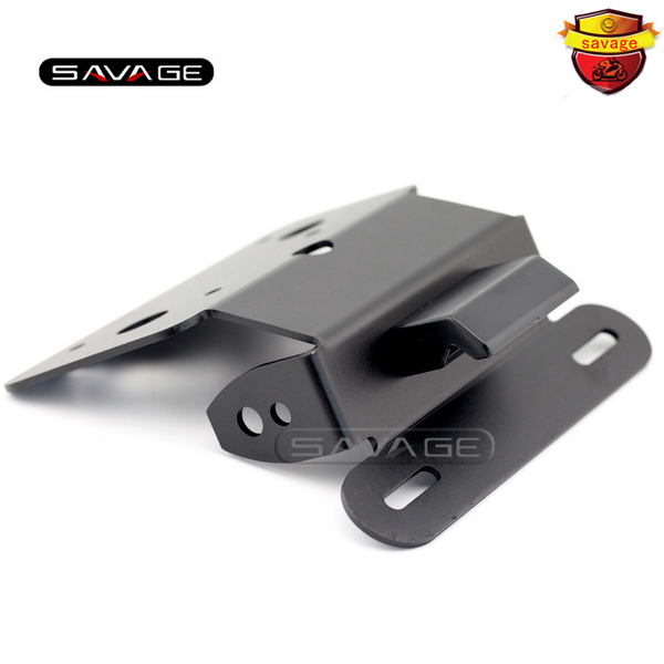 For SUZUKI GSR 750 GSR750 GSX-S 750 Motorcycle Tail Tidy Fender Eliminator Registration License Plate Holder Bracket LED Light