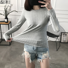 2019  Pullovers Women Sweater plus size Turtlenec Basic Cotton Ribbed Tops Long Sleeve Female 100kg