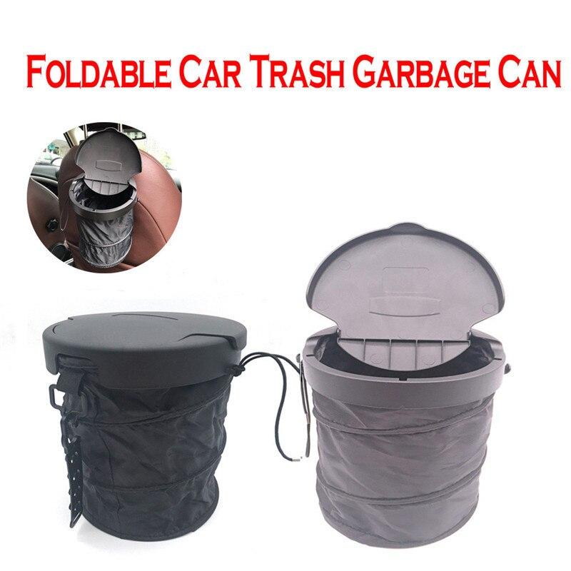 Storage-Box Rubbish-Bag Can-Waste-Dust-Bin Car Trash Foldable Bucket-Ap12 Kongyide 1pcs