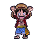 Monkey D Luffy lapel...