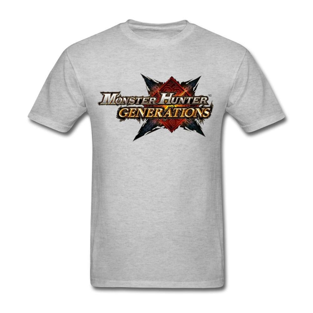 Shirt design generator - Monster Hunter Generations Tee Shirt Family Top Design Short Sleeve Valentine S Tee Shirt Xxxl