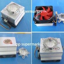 20-100 Вт светодиодный алюминиевый радиатор охлаждающий вентилятор+ 44 мм объектив+ отражатель кронштейн комплект
