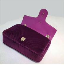 Роскошные зимние бархатная сумка Для женщин дизайнер негабаритных застежка-клапан с двойной оборудования Crossbody Клатчи сумка известного бренда
