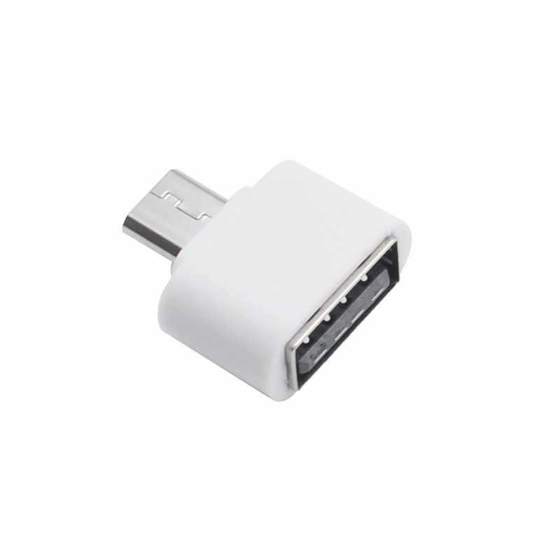 Cable Mini OTG Adaptador USB OTG Micro USB a USB convertidor para la tableta PC Android Samsung Galaxy S6 S7 Xiaomi HTC SONY LG