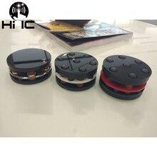 Alta fidelidade alto falantes de áudio subwoofer amplificador primavera anti choque amortecedor pés almofada pé pino absorção de vibração stands