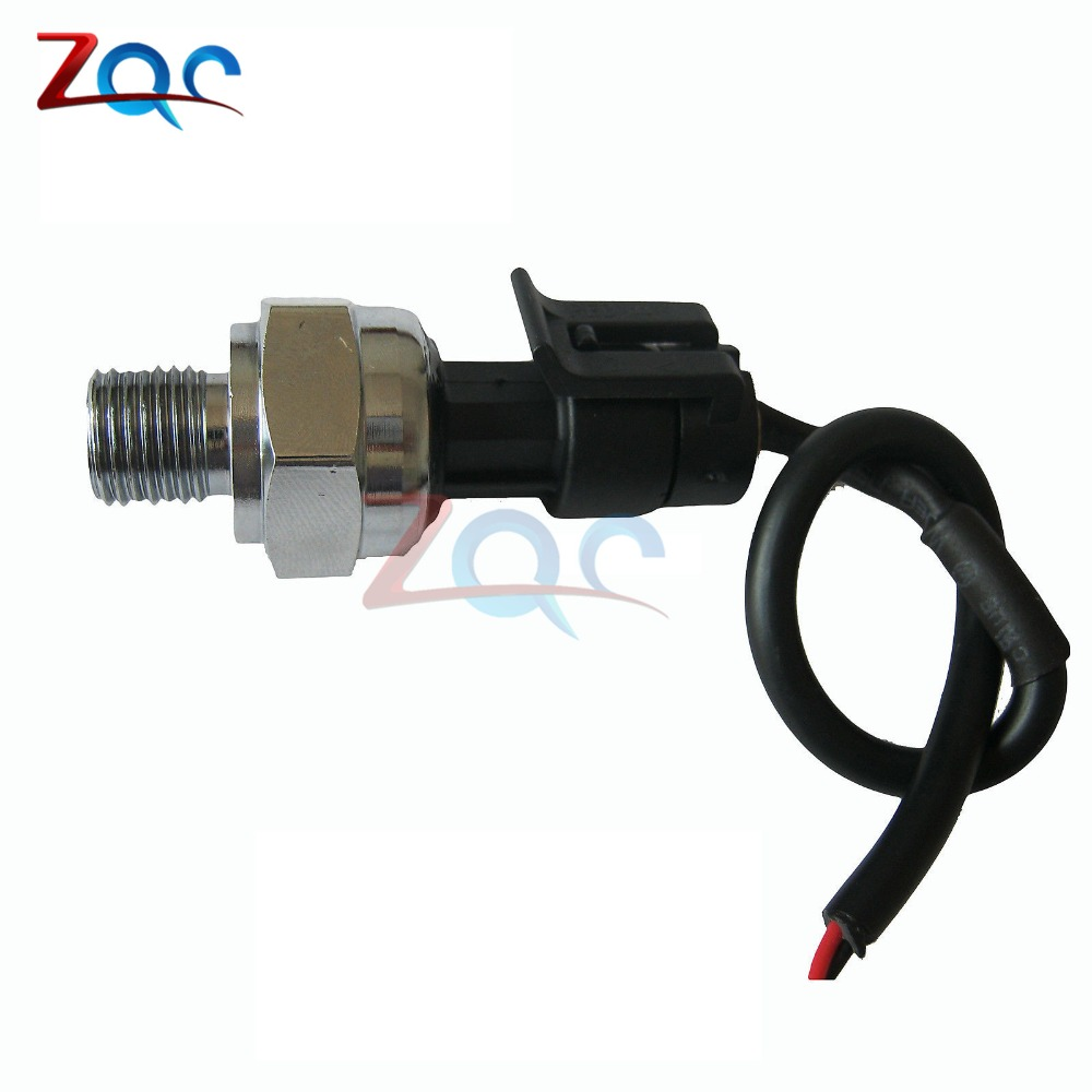 DC 5V G1/4 Pressure Sensor Transmitter Pressure Transducer 1.2 MPa 174 PSI For Water Gas Oil