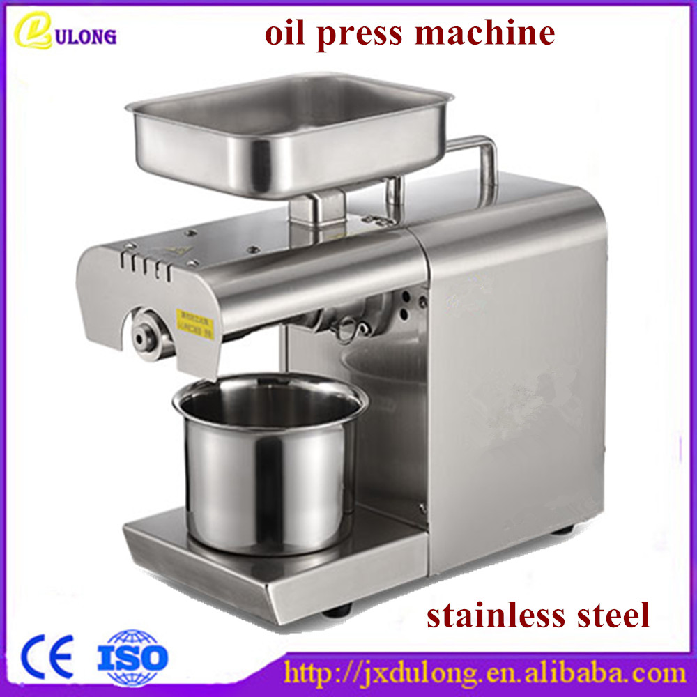 110v 220v Automatic Stable Operation Oil Press Machine