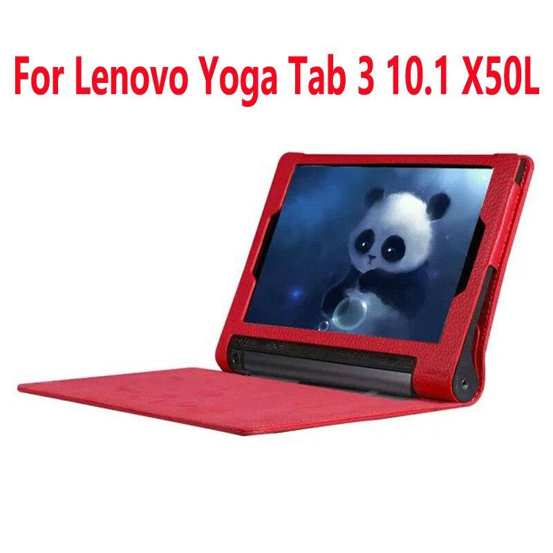 Luxury Smart Case For Lenovo Yoga Tablet 3 Cover Flip PU Leather Cover For Lenovo Yoga
