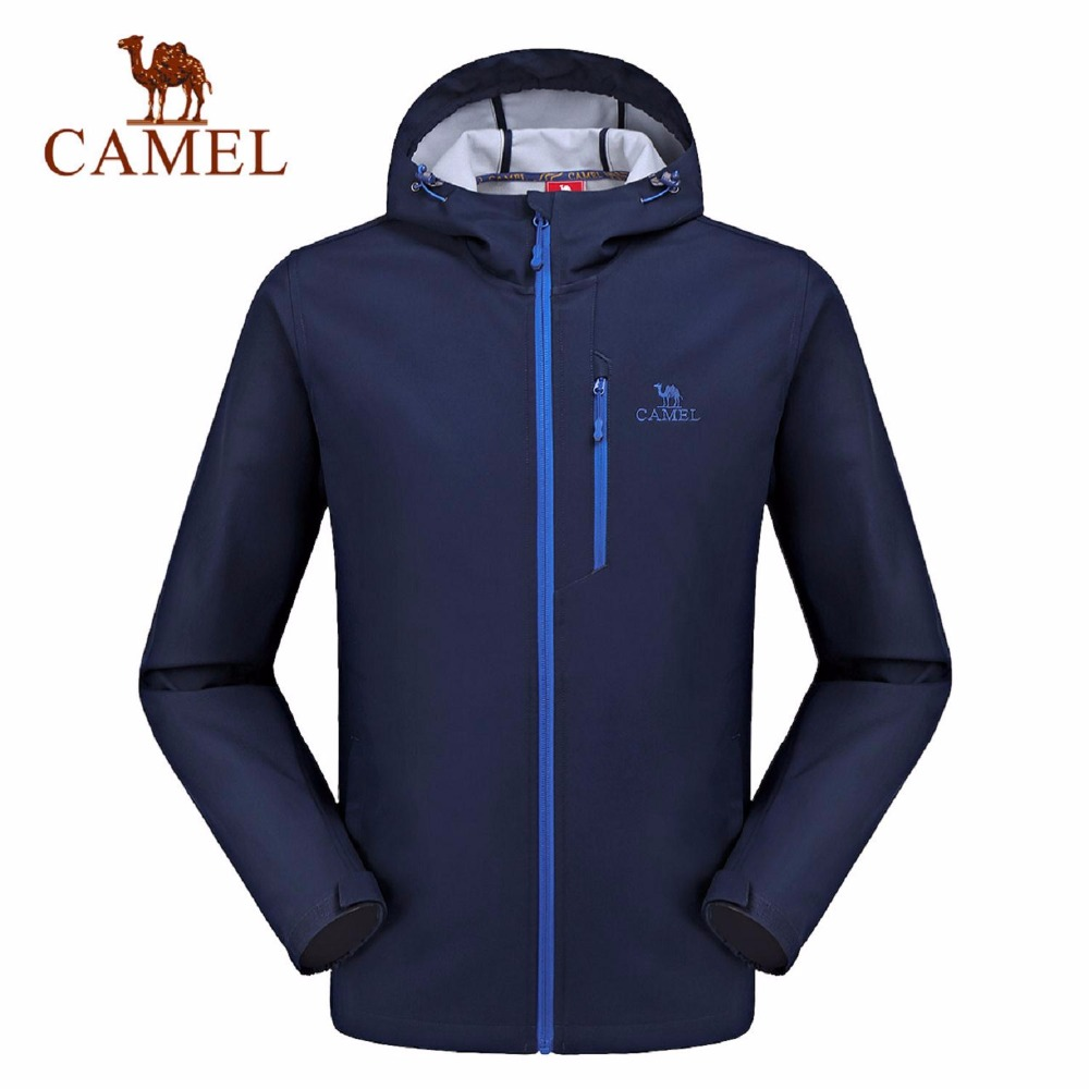 Camel 2017 Men's Outdoors Windproof Thermal Softshell  Jacket A7W231134 vichy бальзам для губ aqualia thermal 4 7 мл бальзам для губ aqualia thermal 4 7 мл 4 7 мл