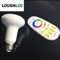 2 4G Wireless RGBW RGBWW Dimmable LED Bulb 9W AC85 265V E27 Led Lamp Wifi Control