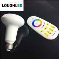 2.4G wireless RGBWW dimmable HA CONDOTTO La Lampadina 9 W AC85-265V E27 Ha Condotto La Lampada di Controllo Wifi Led luce