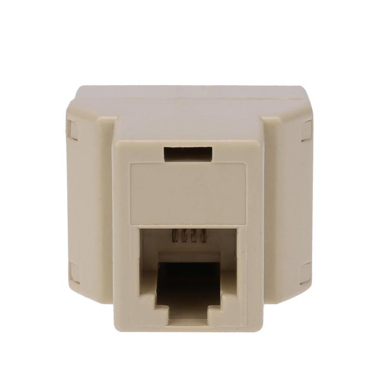 1 to 2 rj11 female telephone wire splitter converter. Black Bedroom Furniture Sets. Home Design Ideas