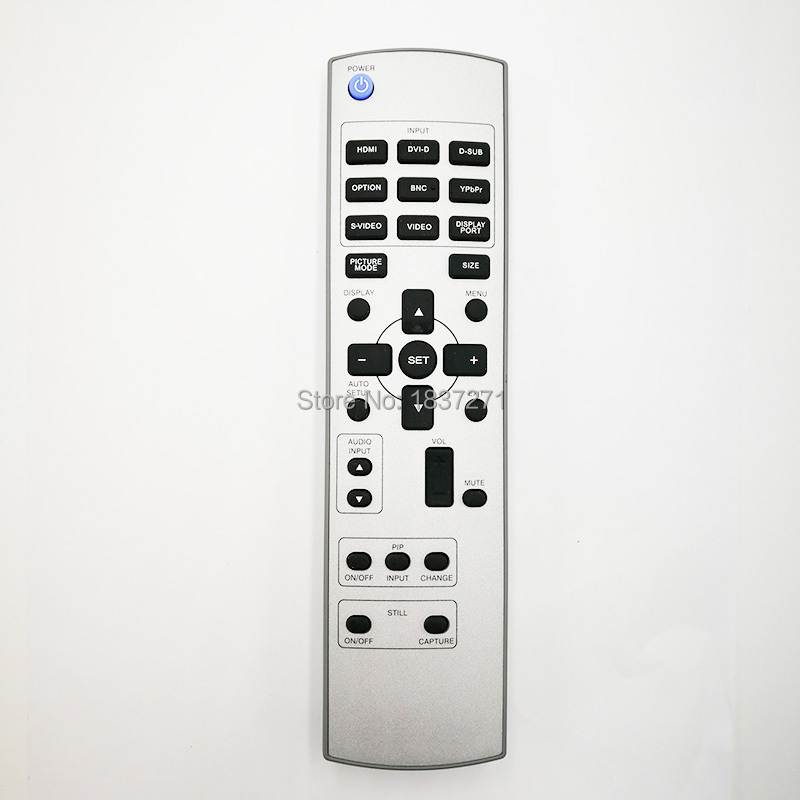 new Original remote control RU DM126 for Mitsubishi LM55S1(W) MDT521S LCD MONITORS FOR DISPLAY WALL SYSTEMS