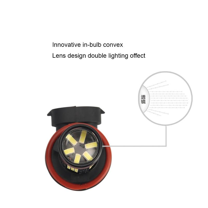 Φωτιστικά αυτοκινήτου 2x H11 H8 - Φώτα αυτοκινήτων - Φωτογραφία 2