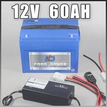 12 В 60ah литий-ионный Солнечный Гольф Перезаряжаемые Авто батареи